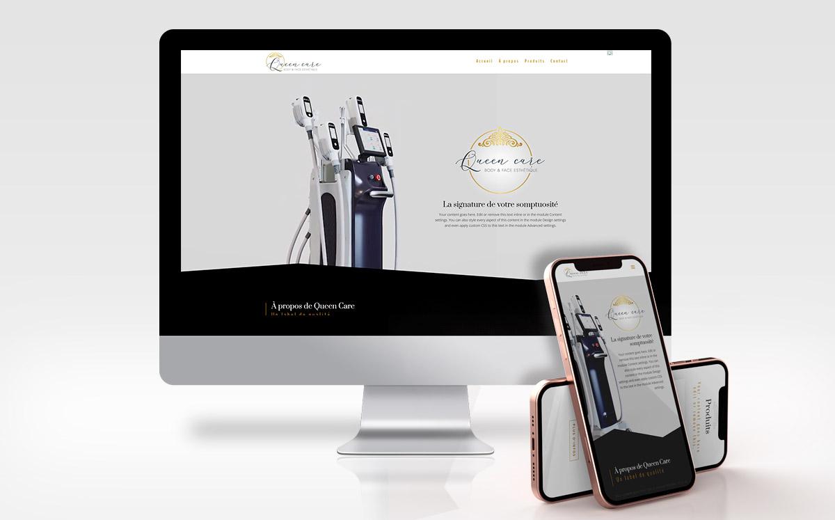 Queen Care : Machines innovantes haut de gamme dans le domaine dermo-esthétique